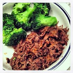 Easy Crock Pot Shredded Beef | The Freckled Foodie