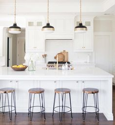 """Studio McGee on Instagram: """"{on the blog} This gorgeous kitchen done through our E-Design service! It's just the right balance of classic and modern. :@lovedaphnemae"""""""