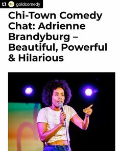 """#Repost @goldcomedy with a shout-out to #Rebellious rockstar @laurie.fane:  Great read on comedian @adriennedennise! — """"If a storytelling show has a theme, I try to sprinkle in a little bit of humor, but at the same time I still want to be my true self and be able to express whatever feeling the theme brought out of me."""" Read more via @rebelliousmagazine I Tried, Shout Out, Comedians, Read More, Storytelling, Comedy, Self, Bring It On, Hilarious"""