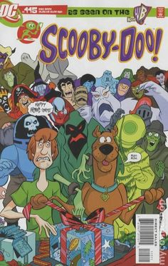"""""""It's a Wonderful Fright"""" and """"The Yeti""""Reprints Scooby-Doo the hauntingly fun tale from Scooby-Doo Shaggy and Scooby wish that Myste Scooby Doo 1969, Scooby Doo Movie, New Scooby Doo, Old Cartoons, Classic Cartoons, Vintage Cartoon, Vintage Comics, Comic Book Covers, Comic Books"""