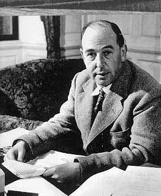 "C.S. Lewis (1898 - 1963) Author of the ""Chronicles of Narnia"" book series, he also wrote ""The Screwtape Letters"", ""Out of the Silent Planet"" and other books, he was known for his religious themes"