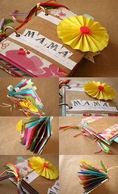 Craftingeek*: Album Scrapbook FACIL // dia de las madres