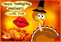 I Love You Happy Thanksgiving