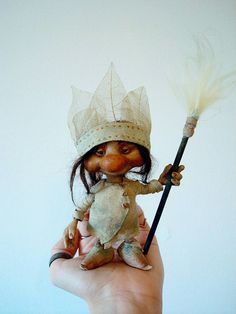 SOLD - Wild Pixie Poseable Art Doll by FaunleyFae on DeviantArt