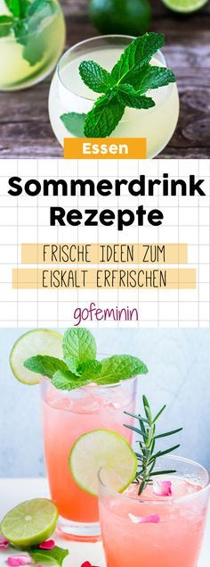 5 geniale Rezepte für deinen neuen Lieblingssommerdrink We bring a lot of variety in your glass. Bring the summer on your tongue with our delicious recipe ideas! Summer Cocktails, Cocktail Drinks, Cocktail Recipes, Drinks Alcohol Recipes, Yummy Drinks, Yummy Food, Drink Recipes, White Cranberry Juice, Lime Soda