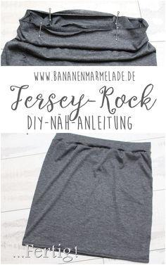 Schritt-für-Schritt-Anleitung für einen einfachen Jersey-Rock!