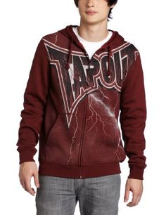 TapouT Men's Make News Hoodie « Clothing Impulse