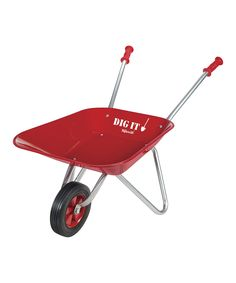 Love this Red Wheelbarrow by Toysmith on #zulily! #zulilyfinds