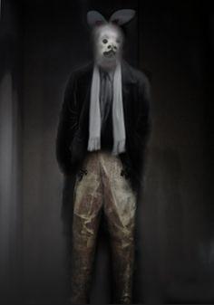 Barbara de Vries, De man met het masker. For auction @ Christie's Amsterdam on Oct 18.  All proceeds go to Young in Prison.