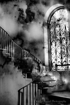 Black and White Photography Surreal Gothic by KathyFornal on Etsy, $30.00