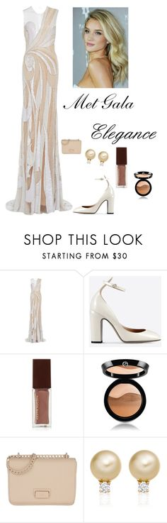 """""""Met Gala Fashion"""" by kotnourka ❤ liked on Polyvore featuring Valentino, Kevyn Aucoin, Giorgio Armani and Etienne Aigner"""
