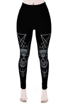 Women's Bottoms | Jeans, Leggings, Skirts & Shorts | Killstar Gothic Leggings, Women's Leggings, Shenzhen, Rainy Day Outfit For School, Flowy Tops, Fashion Prints, Fitness, Clothes For Women, Etsy