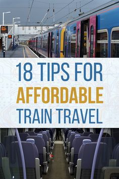 Buy train tickets in advance. If you don't absolutely require the flexibility an Anytime single to allow you to travel on any service at any time, committing to a journey through Advance fare can often save upwards of £100. Also consider railcards before buying any single tickets if you'll be travelling by train often.