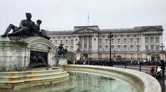 #buckingham palace. #london #unitedkingdom Major in Tourists. http://ift.tt/2kgf8aD