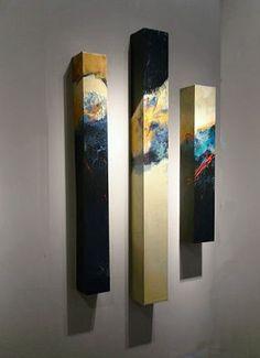 Melange - Karen Jacobs. J'aime la façon de présenter l'oeuvre...