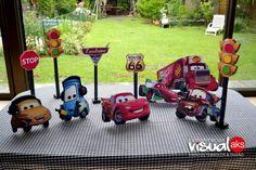 Cars Figuras Centros De Mesa X 1 Unidad - $ 160,00 en Mercado Libre