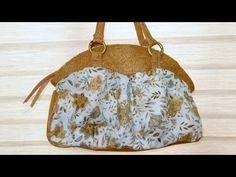 Bolsa em tecidos Micaela II - Maria Adna Ateliê - Aula de bolsa em tecido - Artesanato em bolsa - YouTube