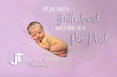 Newborn baby girl, Pixie Dust #jenniferteskerphotography #newbornphotography www.jenniferteskerphotography.com