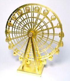 Ferris Wheel 3D Metal puzzle laser cut miniature model kit