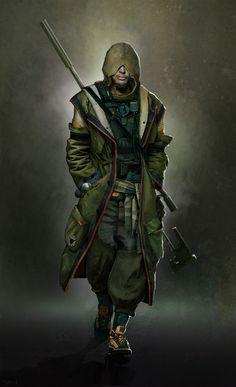 pirate sniper 01, Tuan Truong on ArtStation at https://www.artstation.com/artwork/1Lv9o