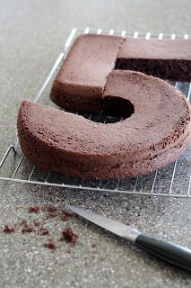 From The Mrs.: How to Make a Number 5 Cake {Bud's Birthday Cake}