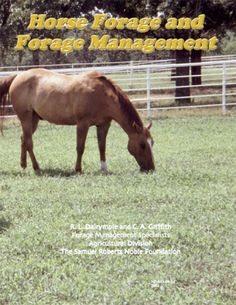 Horse Forage and Pasture Management.