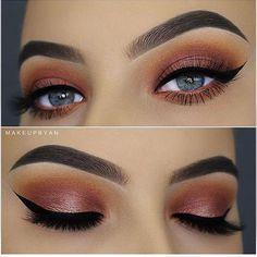21 Pretty Makeup Ideas for Blue Eyes > CherryCherryBeauty.com