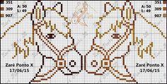 Cross Stitch Horse, Small Cross Stitch, Cross Stitch Borders, Cross Stitch Animals, Cross Stitching, Cross Stitch Embroidery, Cross Stitch Patterns, My Little Pony Unicorn, Swedish Weaving