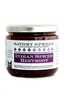 Indian Spiced Beetroot Savory Spread