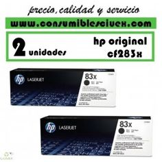 TONER HP ORIGINAL CF283X PACK DE DOS UNIDADES http://www.consumiblesciuex.com/hp-cf283x-/1855-toner-hp-original-cf283x-pack-de-dos-unidades.html