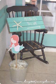 Beachy Mermaid Party | CutePinky SocialBookmarking