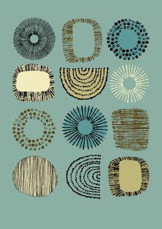 sue bulmer - artist: Featuring... Eloise Renouf - textile and stationery designer