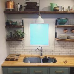 """5 stars from a Colorado customer for this Hevea Butcher Block Countertop! >>> """"Using the product for a countertop and breakfast banquette table."""""""