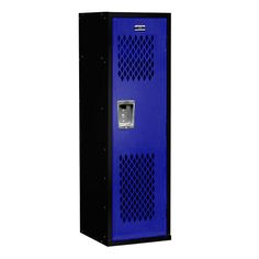 Kids Team Lockers for sale! Fun, durable and designed specifically with kids in mind. Great for organizing child bedrooms, garages, sports-themed bedrooms, game rooms, mudrooms and more! #sportslockers #kidslockers