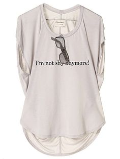 LagunaMoon / I'm not shy anymore Tシャツ 4,935JPY