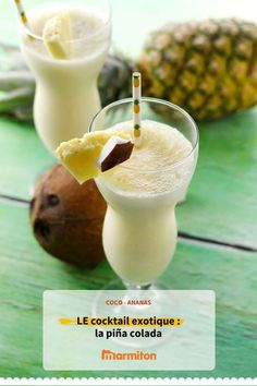 Piña Colada originale - Expolore the best and the special ideas about Cocktail recipes Cocktail Machine, Cocktail Maker, Cocktail Mix, Healthy Cocktails, Best Cocktail Recipes, Vegan Ice Cream, Summer Recipes, Healthy Snacks, Food And Drink