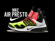 uk availability 6847a e8897 NIKE Air Presto Mid Acronym Acronym 844672 100