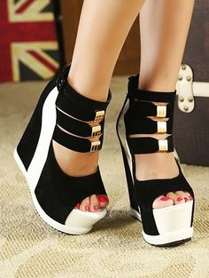 Western Style Sexy Water Proof High Heel Shoes