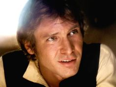 Han Solo has returned to the big screen in Star Wars: Episode VII, and though there's a a whole new cast alongside original stars like Harrison Ford, it was Harrison Ford Young, Harrison Ford Han Solo, Rick Deckard, Indiana Jones, Science Fiction, Cuadros Star Wars, Han And Leia, Carrie Fisher, Raining Men
