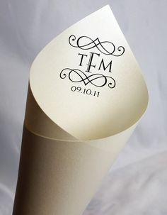 Pretty Printable Petal Cones!                           etsy.com/shop/camispaperie #petal #cones #wedding #favors #DIY #printable