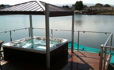 Fully automated hot tub cover/gazebo