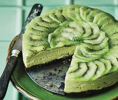 "Bake It Vegan: Black And Green ""Cheesecake"" - Food Republic"