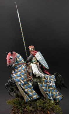 Knight of the Crusades with more great barding.