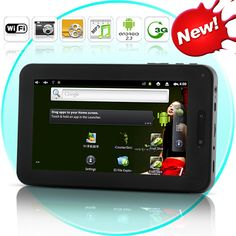 Ingenium 2.3 - Android 2.3 Tablet with 7 Inch Touchscreen (W