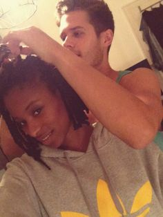 I Know He Really Loves Me, He Gets My Hair Right And Better Each Time, How Romantic Is This!