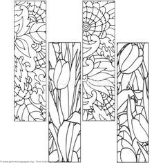 10 Floral Bookmark Coloring Pages Adult Coloring Pages, Letter A Coloring Pages, Detailed Coloring Pages, Unicorn Coloring Pages, Pattern Coloring Pages, Mandala Coloring Pages, Colouring Pages, Coloring Sheets, Coloring Books