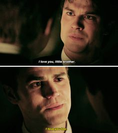 I was sobbing the whole episode. Julie Plec did good this time. I'm gonna miss these crazy, loyal, loving, and wonderful Salvatore Brothers. 2009-2017