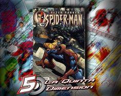 PETER PARKER, SPIDER-MAN # 46 DE RAMOS Y JENKINS $ 60.00 Para más información, contáctanos en http://www.facebook.com/la5aDimension