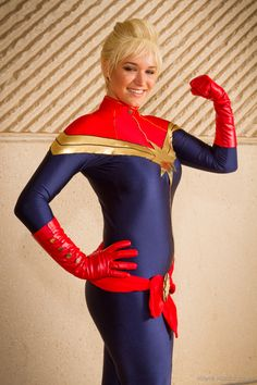 Character: Captain Marvel (Carol Danvers) / From: MARVEL Comics 'Captain Marvel' / Cosplayer: Amaya Kumikai / Event: MegaCon 2016