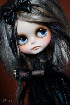 GBaby+-+Custom+Blythe+-+Genesis+Black+Magic+Girl+l✿⊱╮